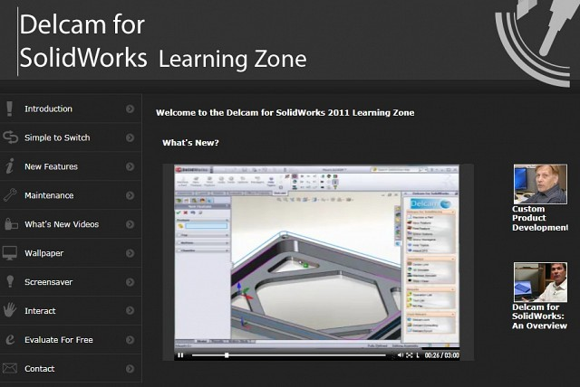Delcam learning zone