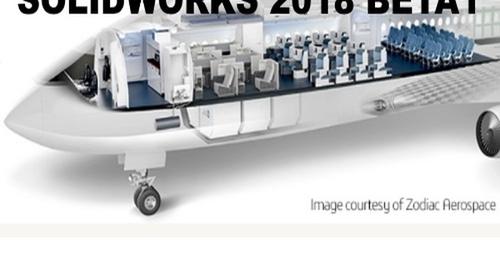 SolidWorks 2018 Beta1 dostępny do pobrania!